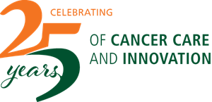 Sylvester Comprehensive Cancer Center 25th year anniversary seal