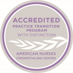 Accredited Practice Transition Program with Distinction from the American Nurses Credentialing Center