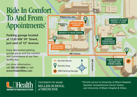 Parking Information | Sylvester Comprehensive Cancer Center
