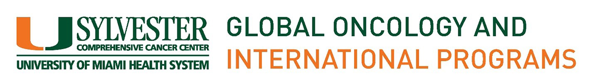 Promotional Banner for Sylvester Comprehensive Cancer Center Global Oncology and International Programs