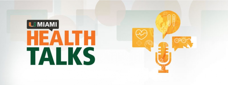Banner for UMiami Health Talks
