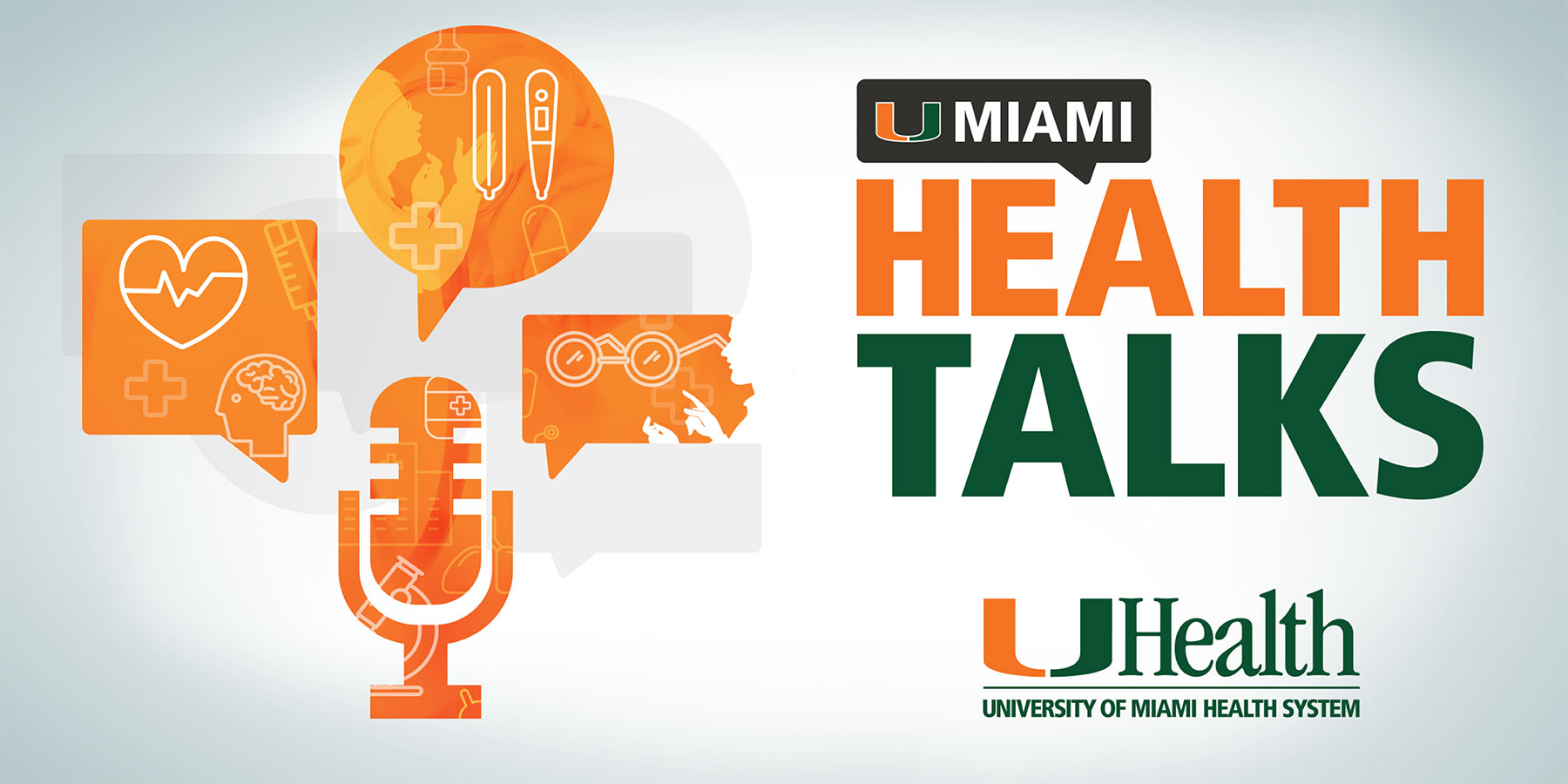 Promotional Banner for UMiami Health Talks