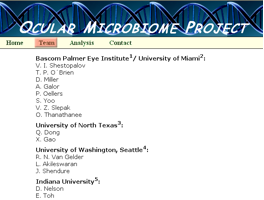 Ocular Microbiome Project