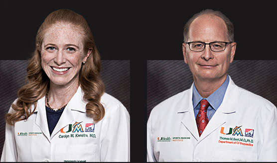 Carolyn M. Kienstra, M.D., and Thomas M. Best, M.D